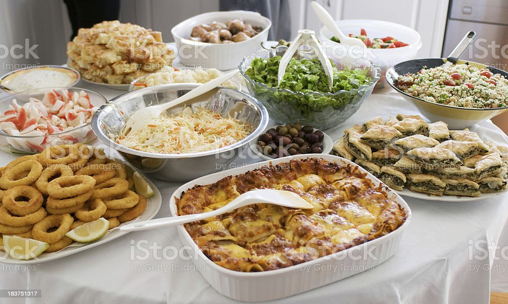Food Feast royalty-free stock photo