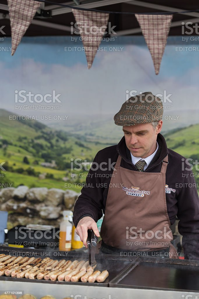 Food Festival stock photo