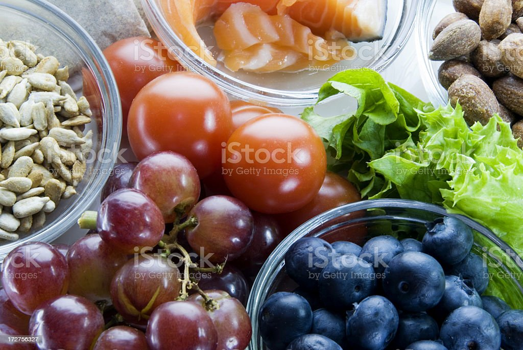 Food For Health stock photo