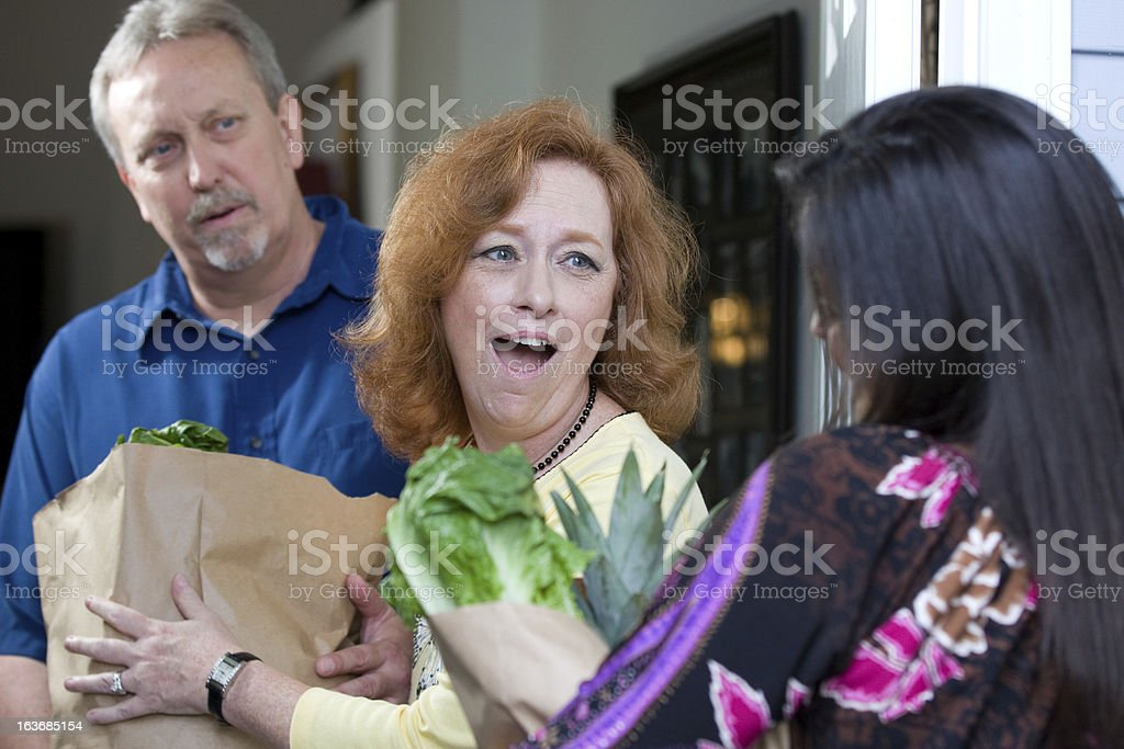 Food For Hungry stock photo