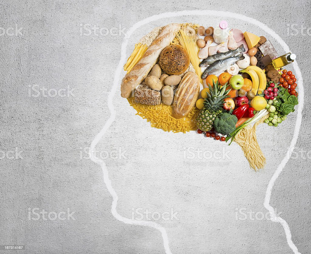 Food for thought royalty-free stock photo