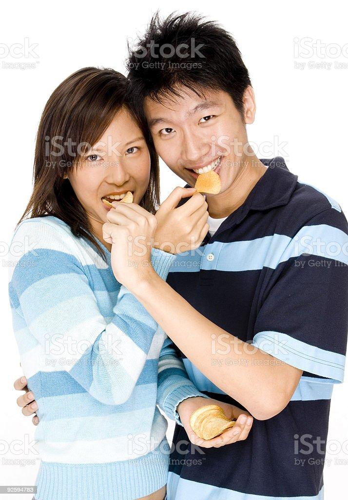 Food Fun royalty-free stock photo