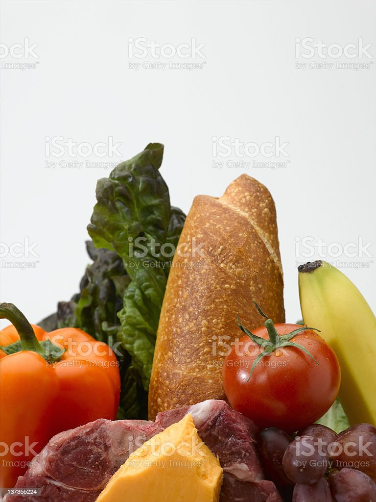 Food Group royalty-free stock photo