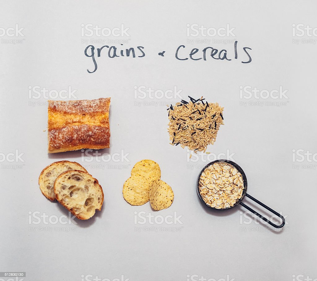 Food Groups stock photo