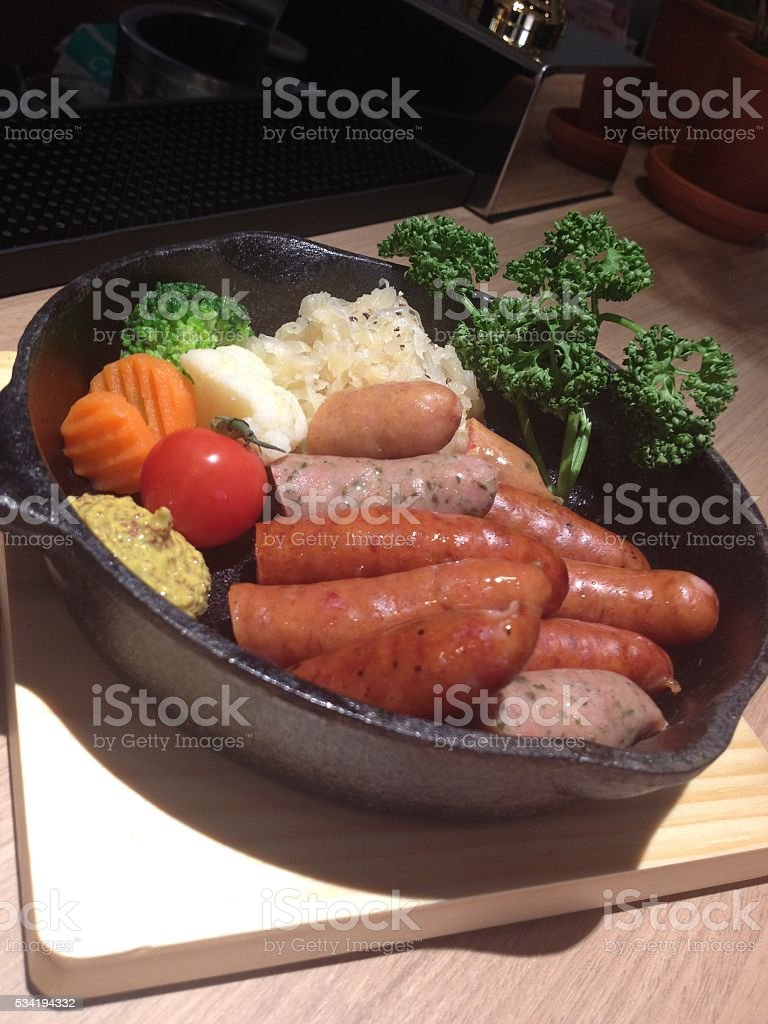 Food is life royalty-free stock photo