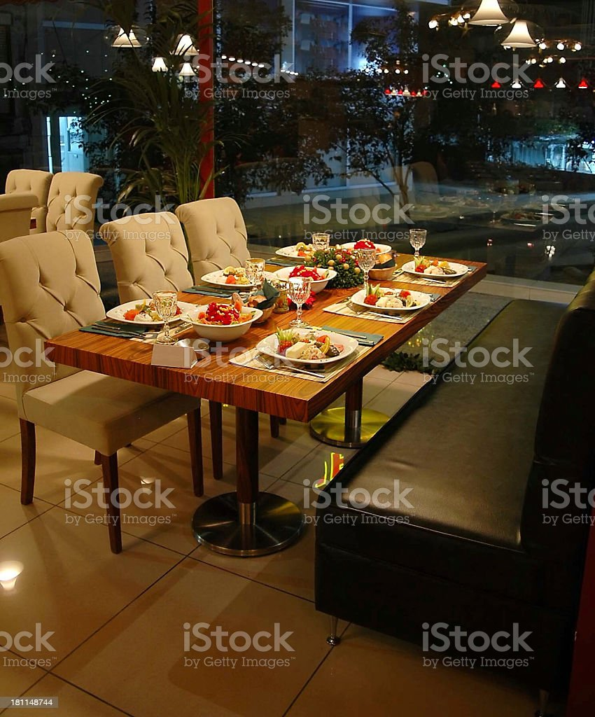 Food is ready stock photo