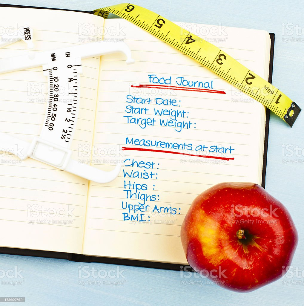 Food Journal royalty-free stock photo