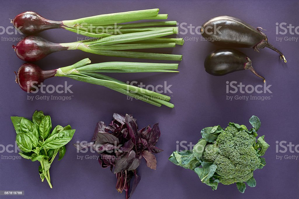 Food knolling stock photo