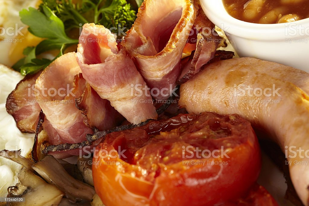 Food on plate royalty-free stock photo