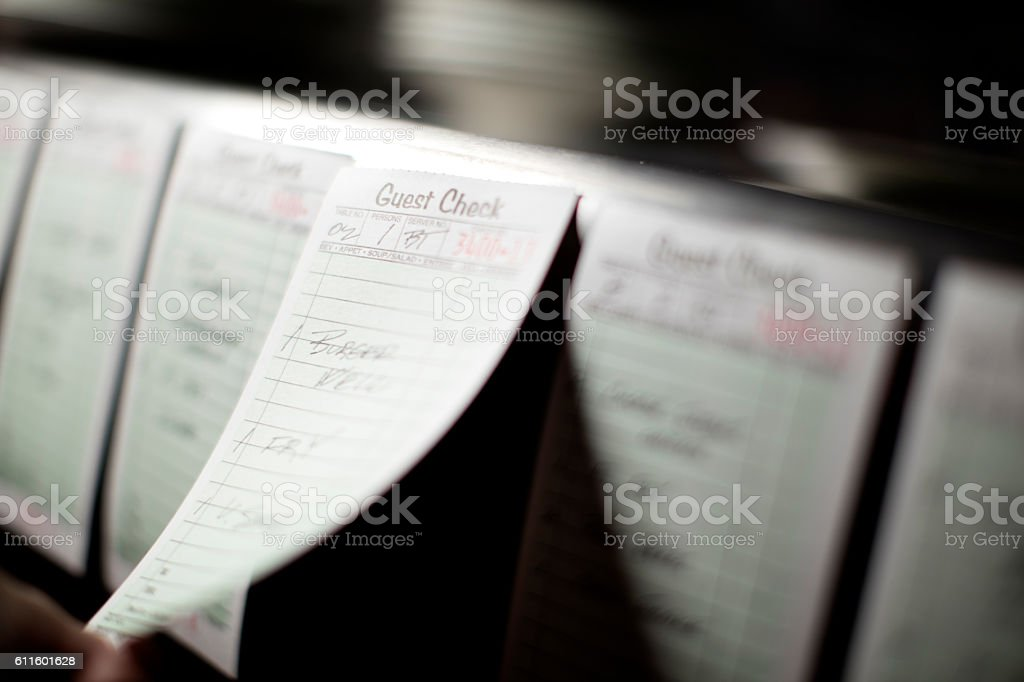 Food Order stock photo