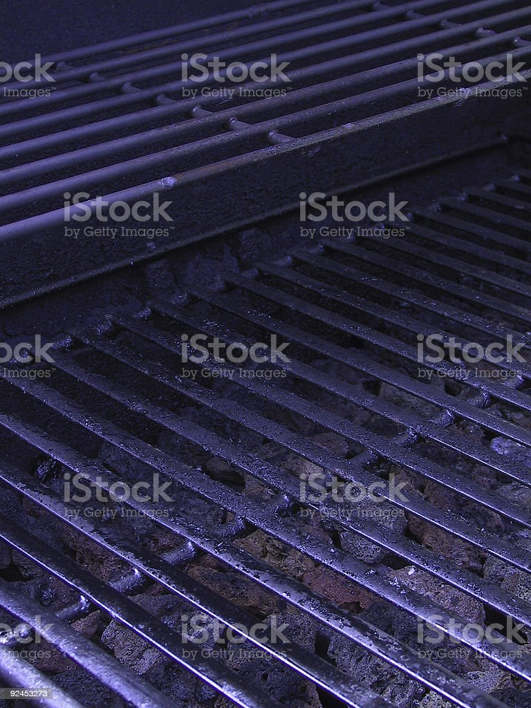 Food - Outdoor Cooking Grille stock photo