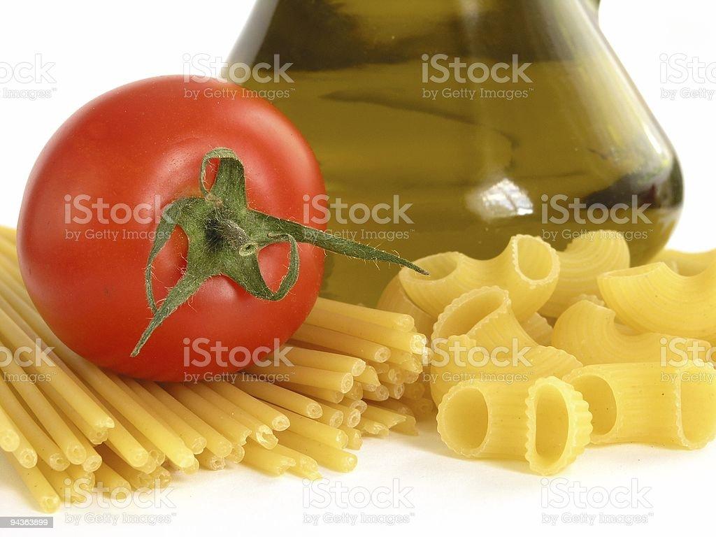 Food - pasta royalty-free stock photo