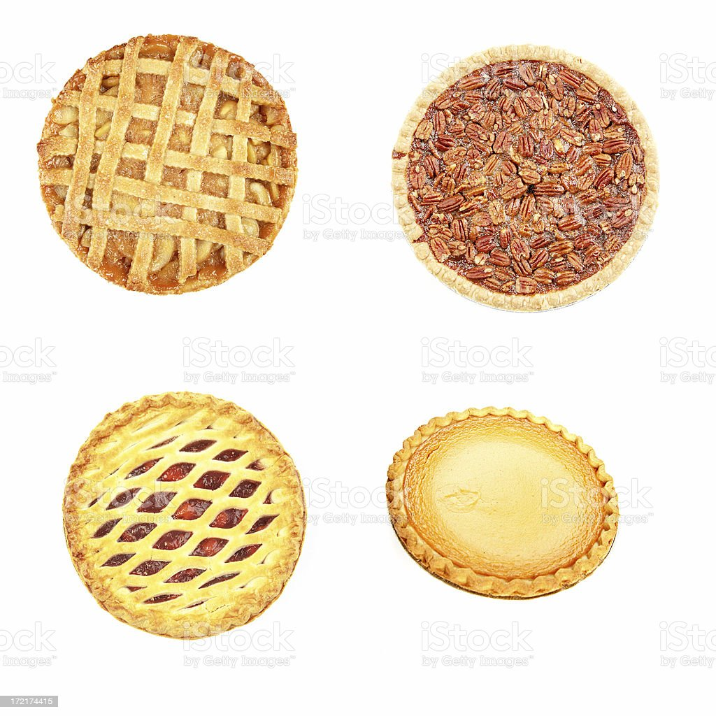 Food Pies royalty-free stock photo