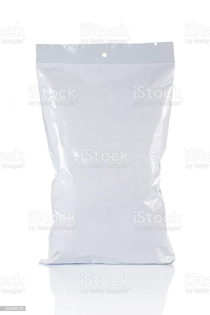 food plastic pack stock photo