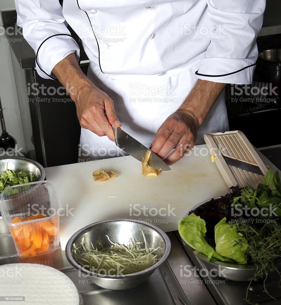 Food Preparation royalty-free stock photo