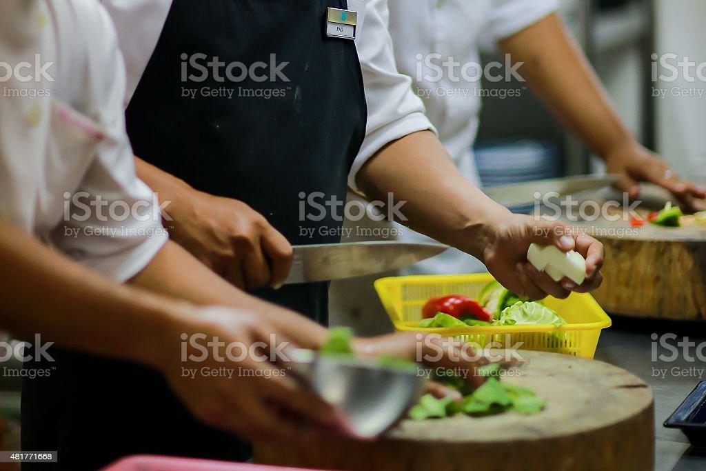 Food Preparation stock photo