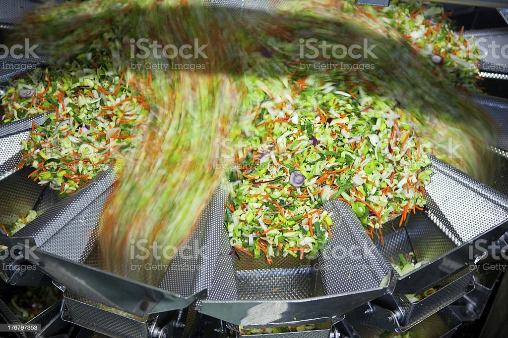 Food processing machine stock photo