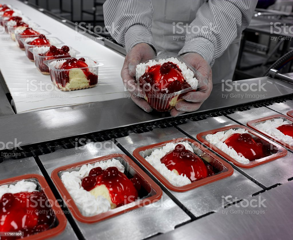 Food Production royalty-free stock photo