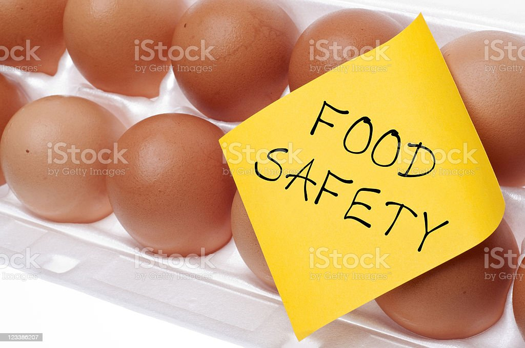 Food Safety Concept stock photo