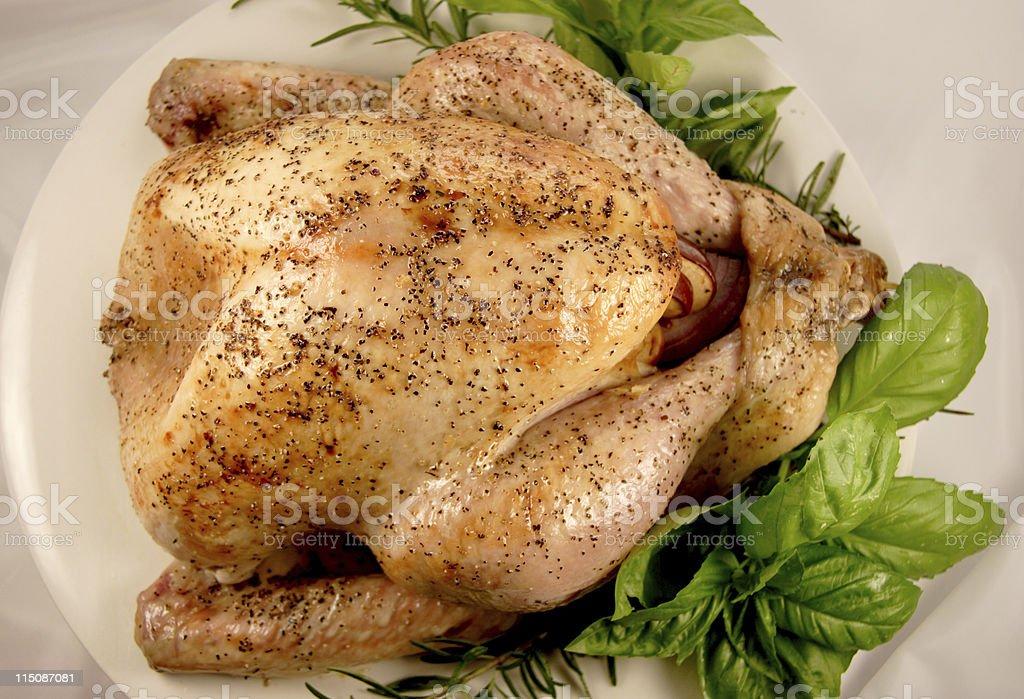 food scenes - turkey roasted (holiday series) royalty-free stock photo