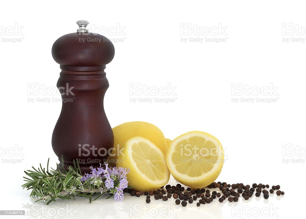 Food Seasoning stock photo