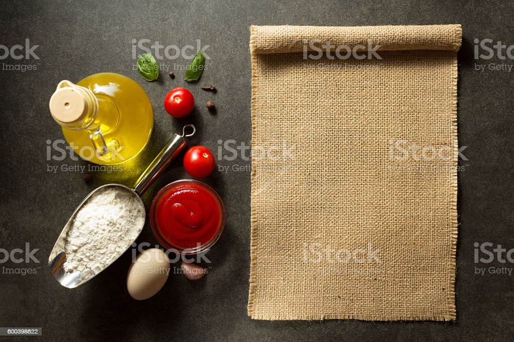 food spice and herbs stock photo