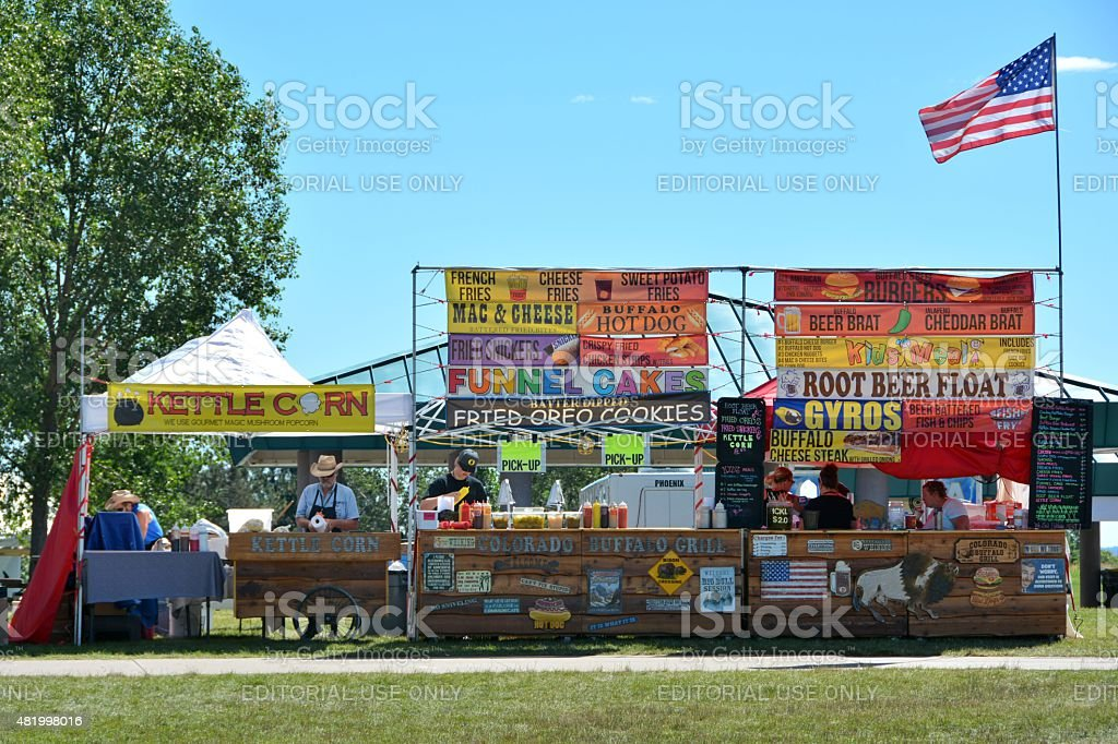 Food Stand stock photo