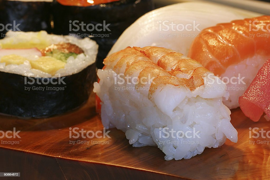 Food: sushi royalty-free stock photo