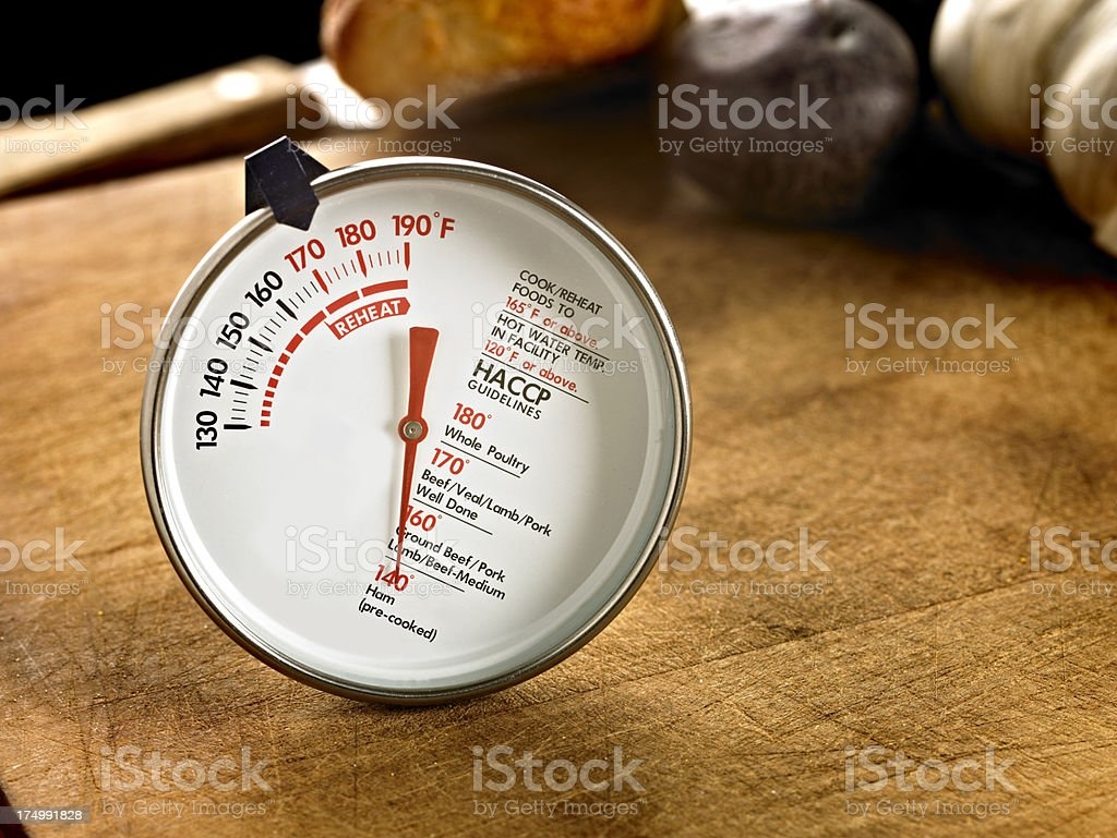 Food Thermometer stock photo