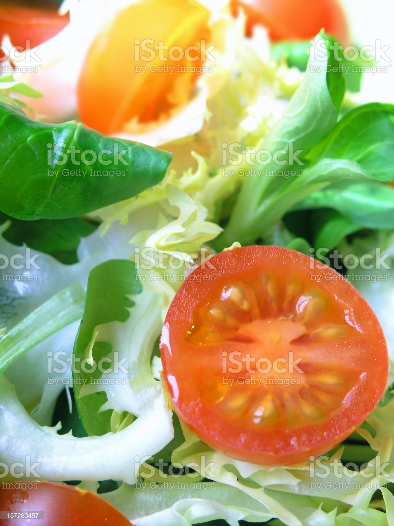 food: tomato salad royalty-free stock photo