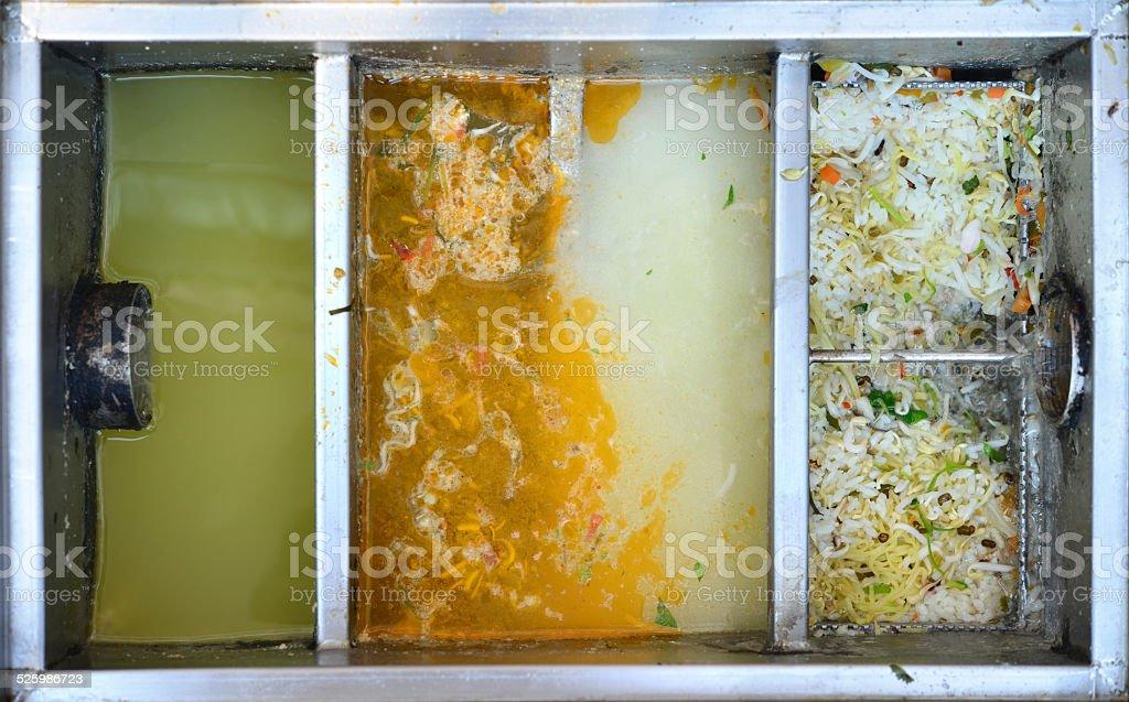 food traps box stock photo