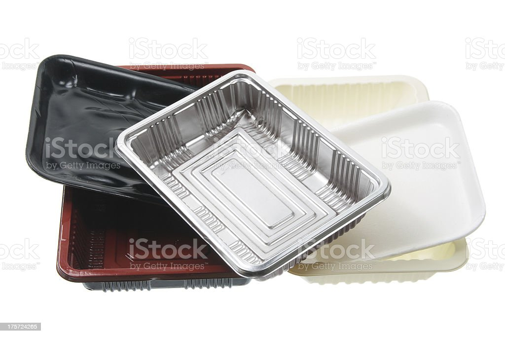 Food Trays royalty-free stock photo