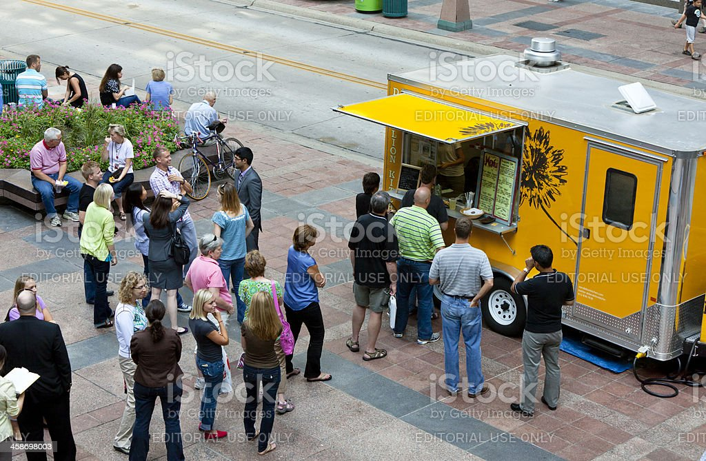 Food Truck royalty-free stock photo