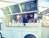 Food truck restaurant