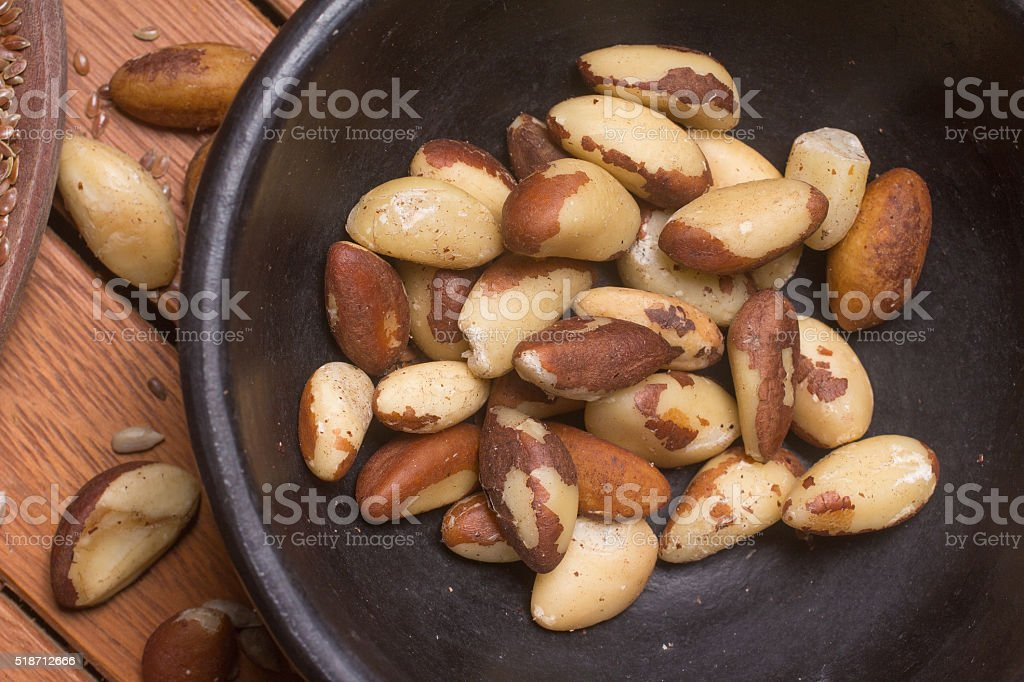 Food with unsaturated fat stock photo