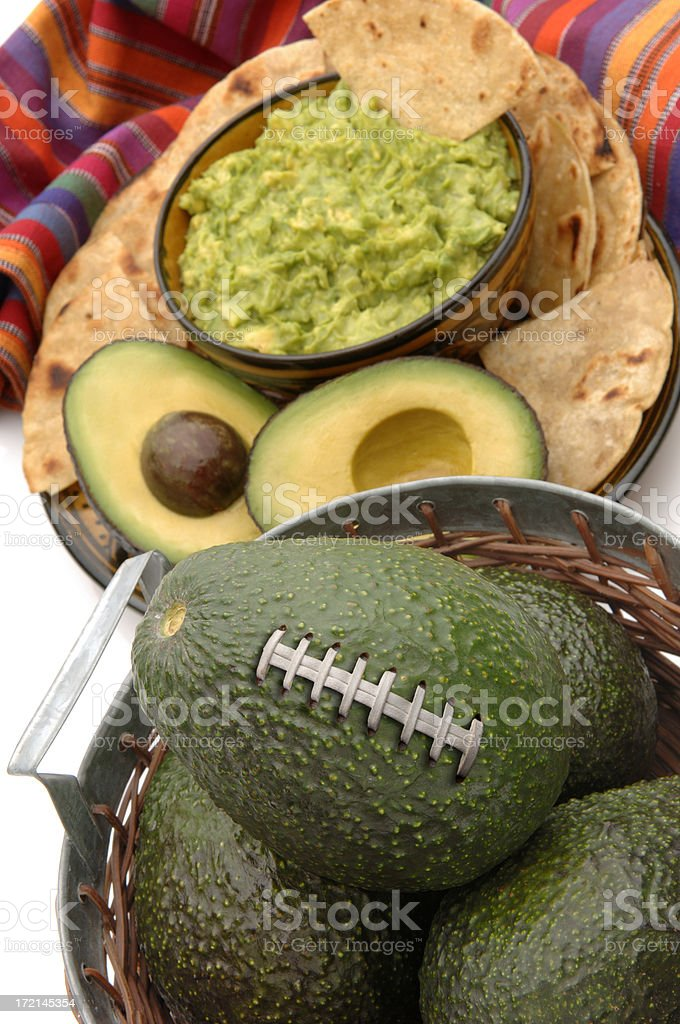 Foodball Party Favorite! stock photo