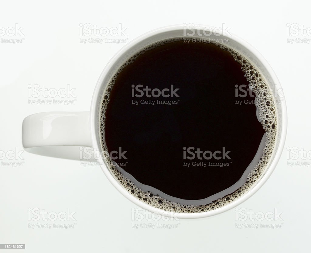 Food-Black Coffee royalty-free stock photo