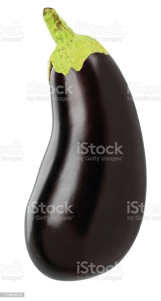 Food-Egg Plant stock photo