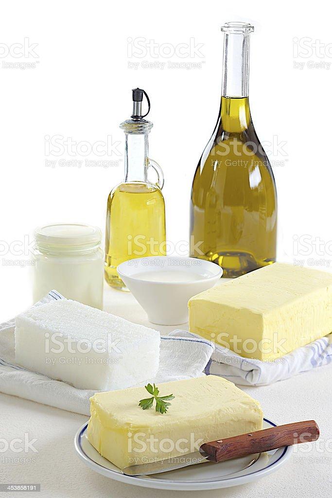 Food-Fats stock photo