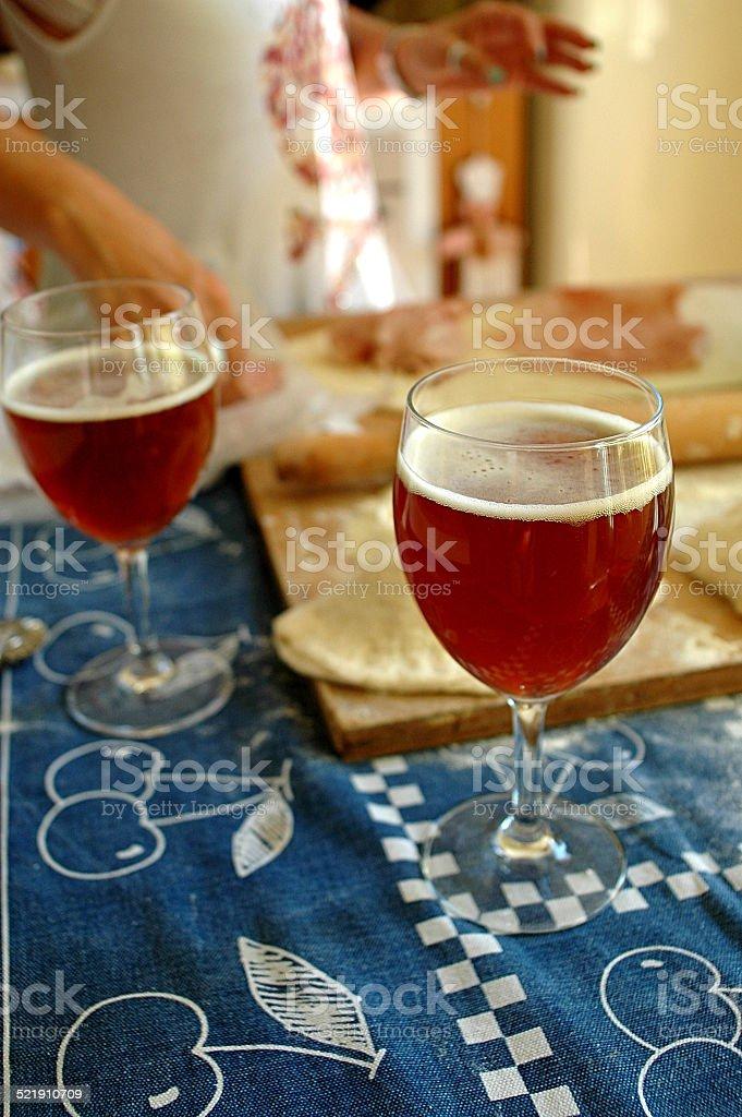 FoodLove2014 - La birra stock photo