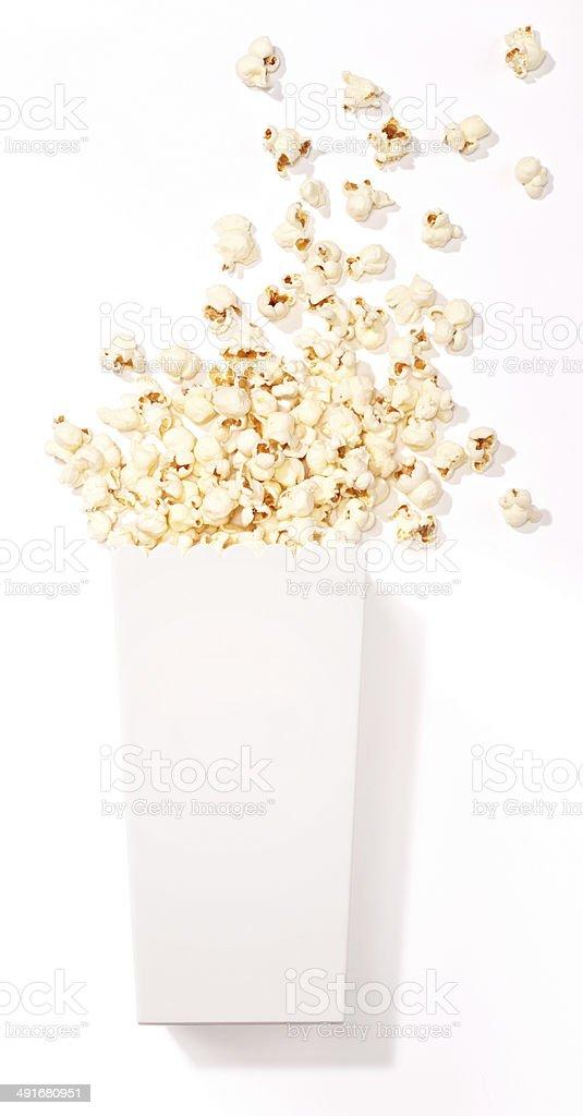 Food-Popcorn stock photo