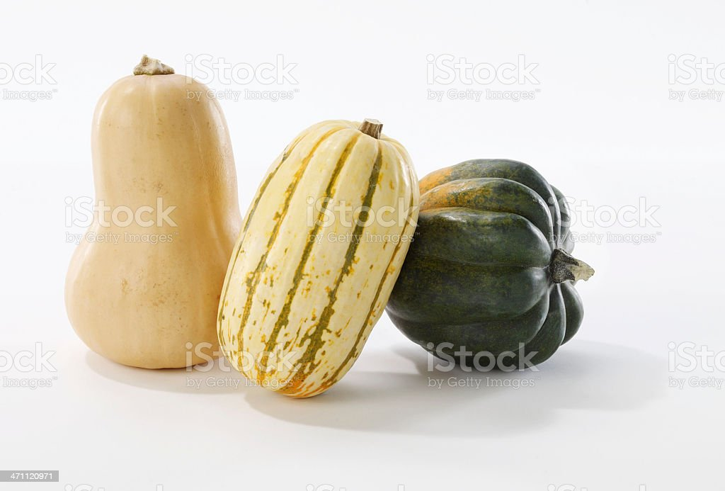 Food-Three Gourds stock photo