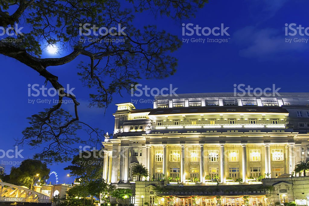 Fool Moon. stock photo