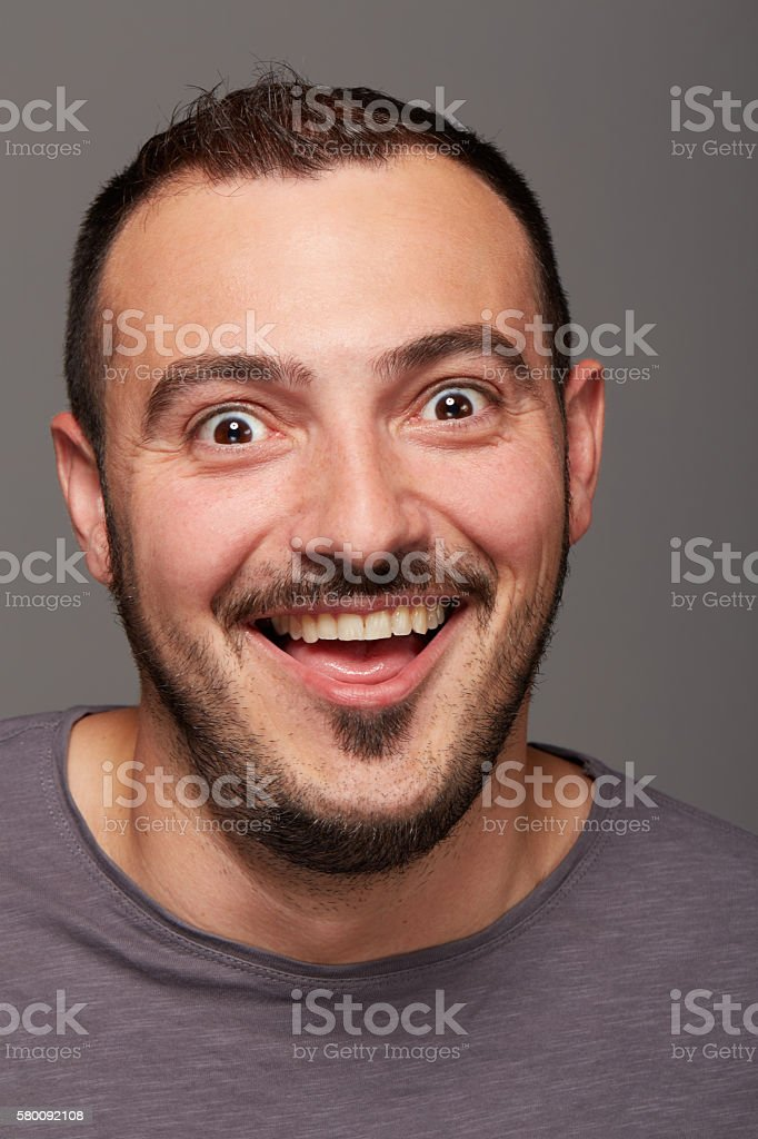 foolish man stock photo