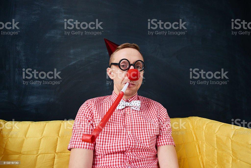 Foolishness stock photo