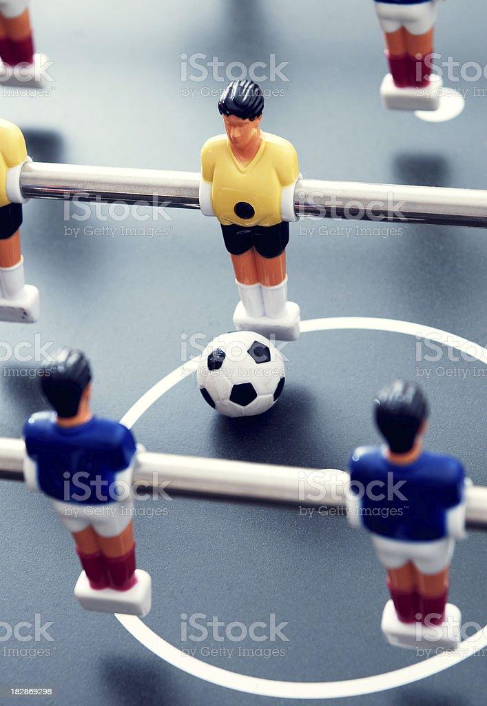 Foosball game royalty-free stock photo