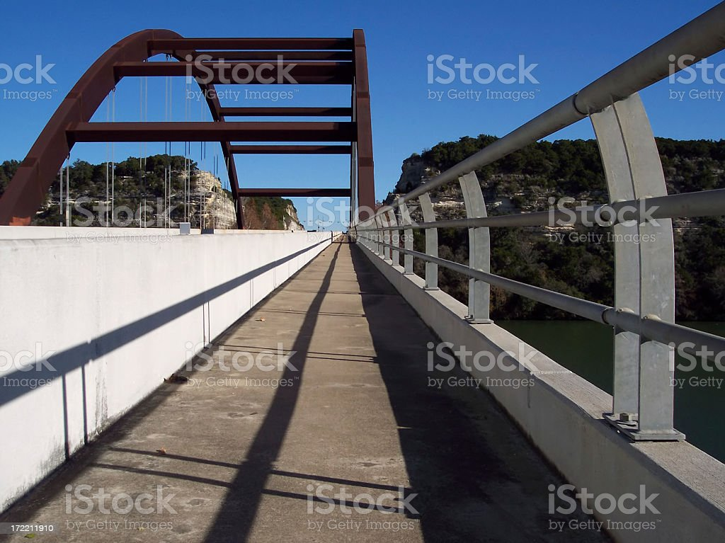 Foot Bridge royalty-free stock photo