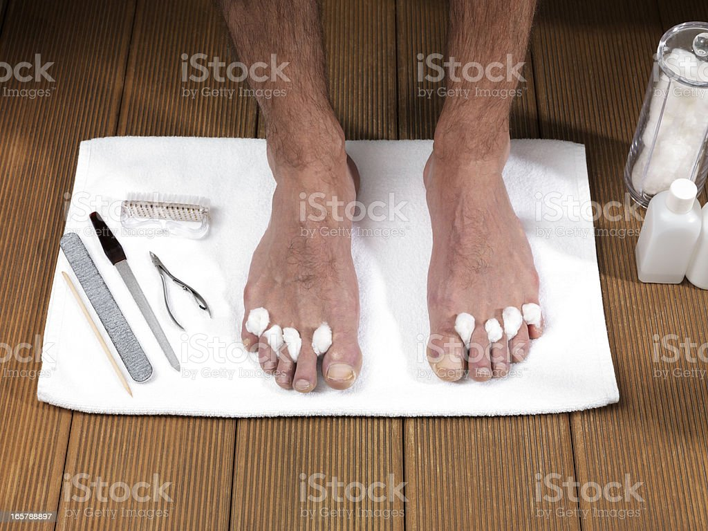 Foot Care (Click for more) royalty-free stock photo