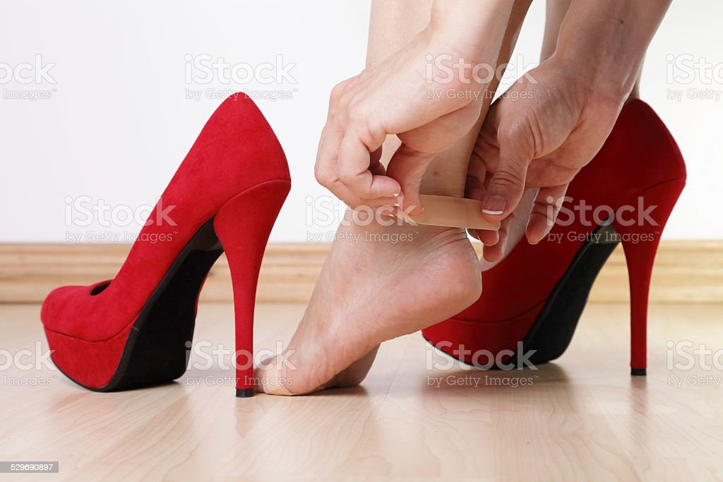 Foot Problems stock photo
