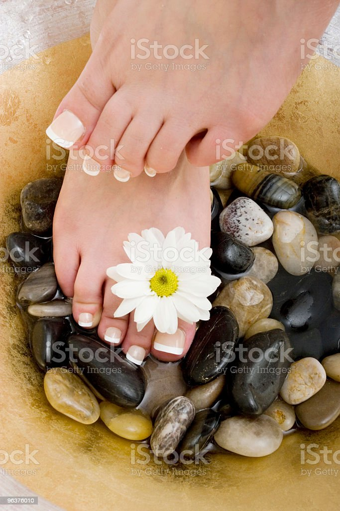 Foot spa royalty-free stock photo